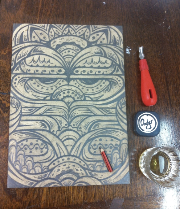 WoodcutSketch